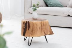 Solid Sheesham Wood INDIANA Pod Stool
