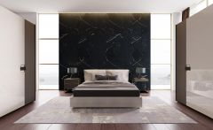 Apollo Arviro Aspendos Dark & White Themed Bedroom design
